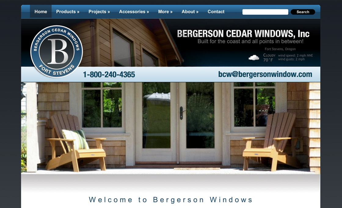 Bergerson Windows