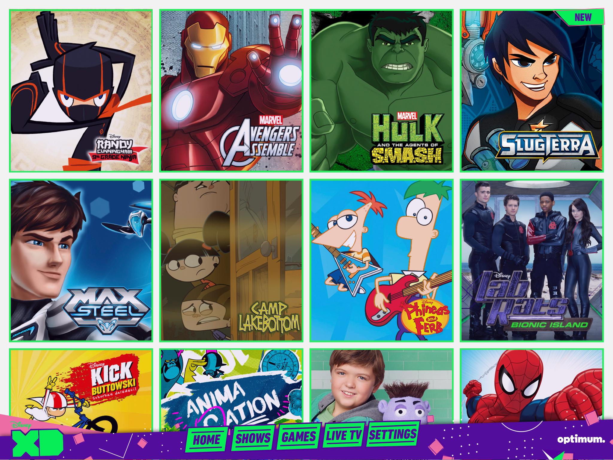Disney XD App – Brisk Studios